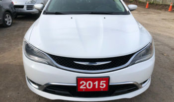 2015 Chyrsler 200 C/Limited Edition/Navigation/Leather full