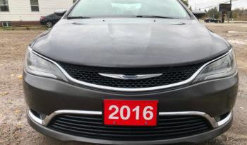 2016 Chrysler 200 full