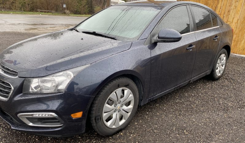 2015 Chevrolet Cruze 4Dr Sdn LT Automatic 1.4L 4-Cyl Gasoline full