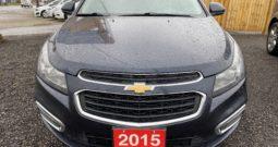 2015 Chevrolet Cruze 4Dr Sdn LT Automatic 1.4L 4-Cyl Gasoline