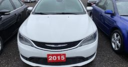 2015 Chrysler 200 4dr Sdn LX FWD Automatic 2.4L 4-Cyl Flex Fuel